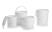 an example of the series plastic buckets